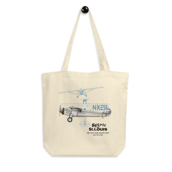 Spirit of St Louis Tote Bag FRONT