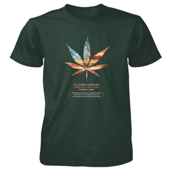 Cannabis 507 T-Shirt FOREST