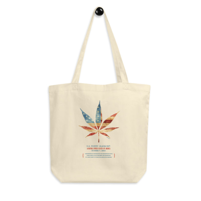 Cannabis 507 Tote Bag FRONT