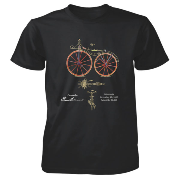 Velocipede T-Shirt BLACK