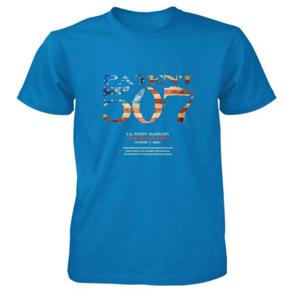 Patent 507 T-Shirt SAPPHIRE
