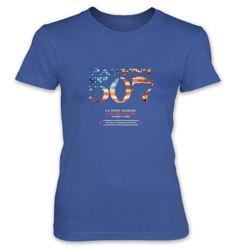 Patent 507 Women's T-Shirt ROYAL BLUE