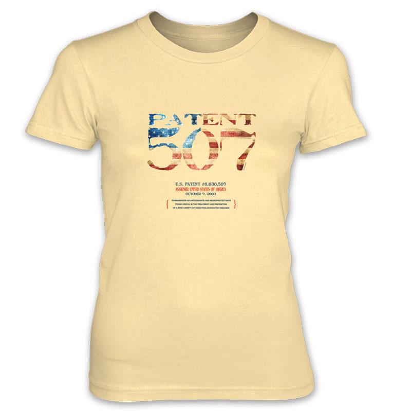 Patent 507 Women's T-Shirt SPRING YELLOW