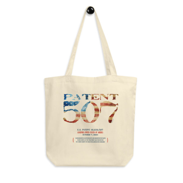 Patent 507 Tote Bag FRONT