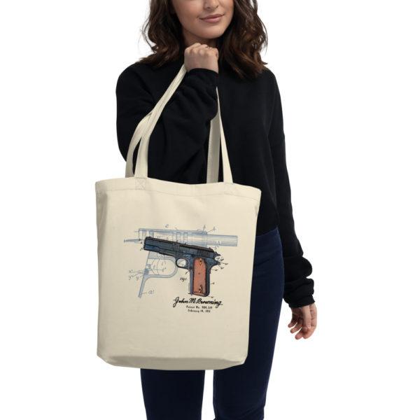 Browning Model 1911 Tote Bag