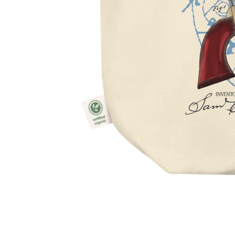 Colt Revolver Tote Bag detail