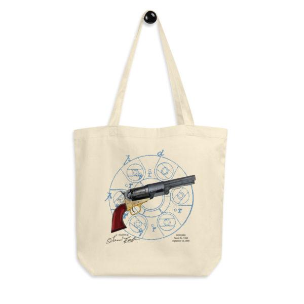 Colt Revolver Tote Bag FRONT