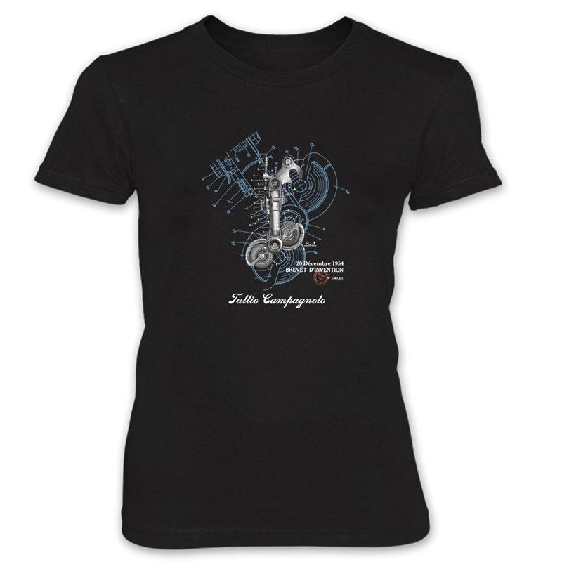 Derailleur-Campagnolo Women's T-Shirt BLACK