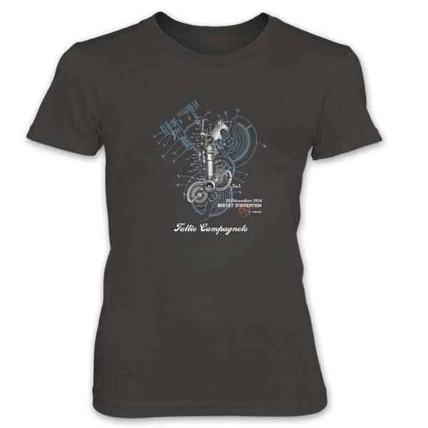 Derailleur-Campagnolo Women's T-Shirt SMOKE
