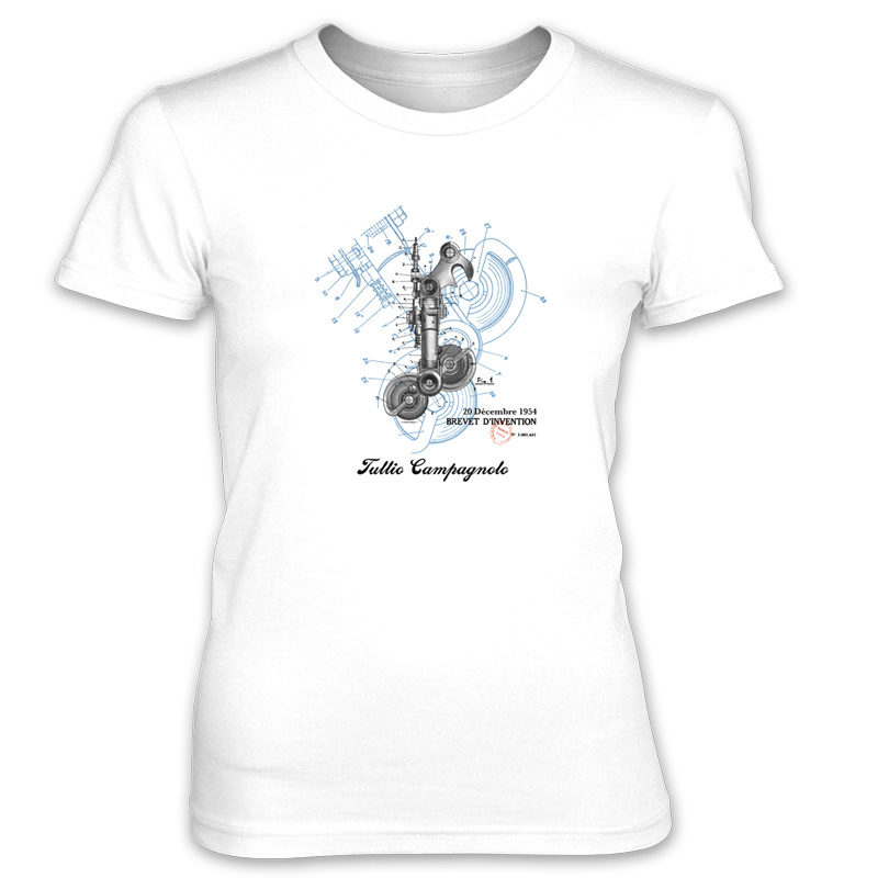 Derailleur-Campagnolo Women's T-Shirt WHITE