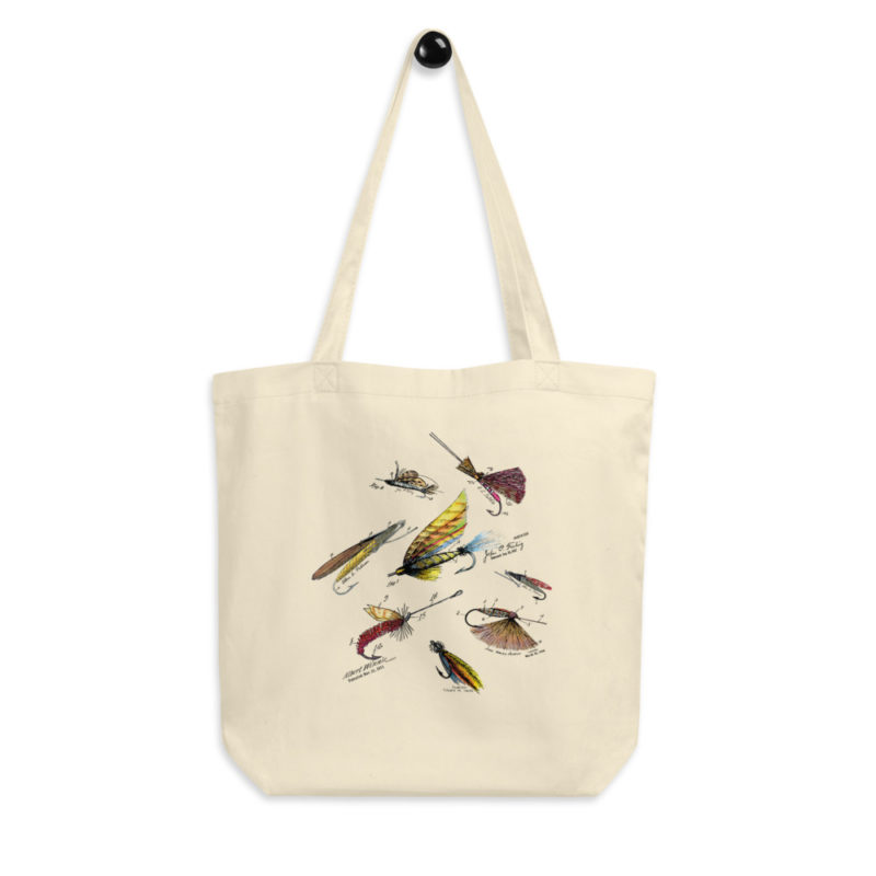 Fly Fishing Flies MS-Color Tote Bag FRONT