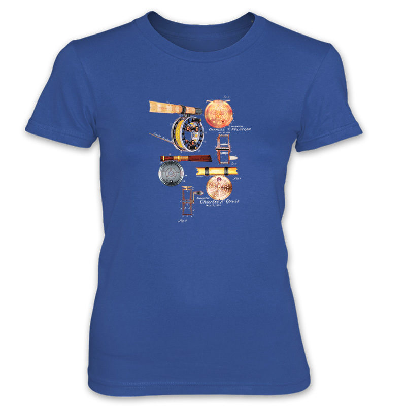 Fly Reels MS-Color Women's T-Shirt ROYAL BLUE