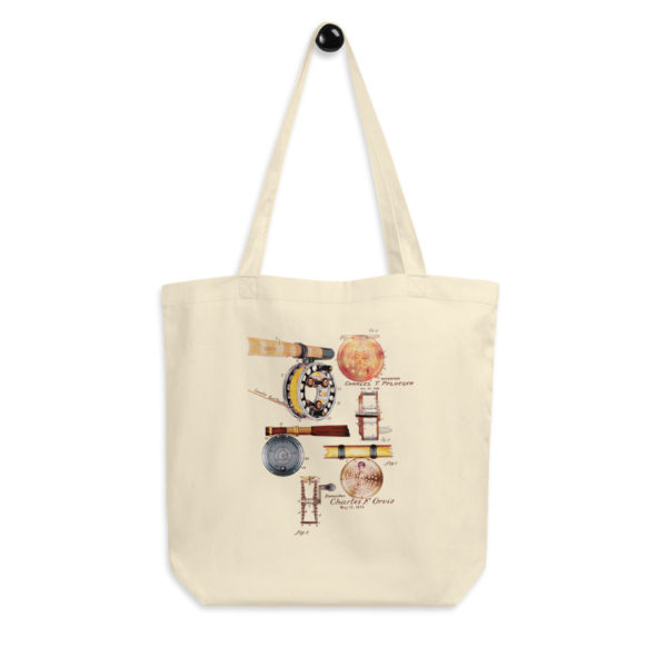 Fly Reels MS-Color Tote Bag FRONT