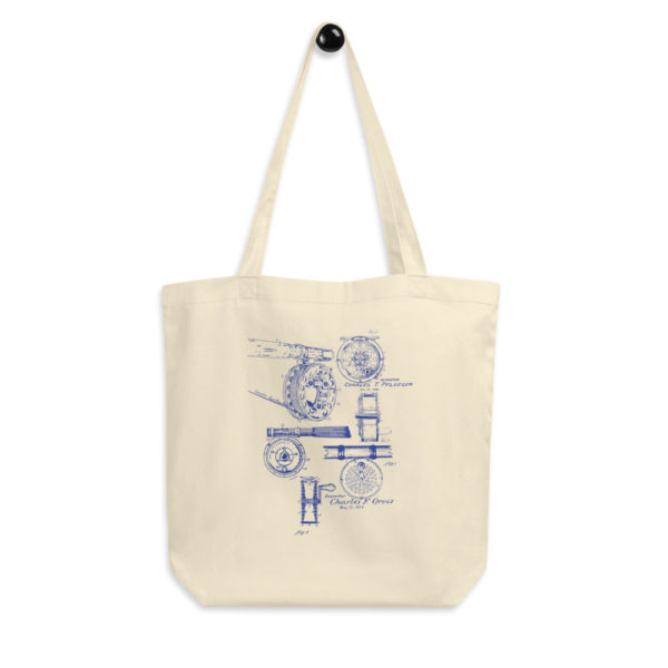Fly Reels MS-Lineart Tote Bag FRONT