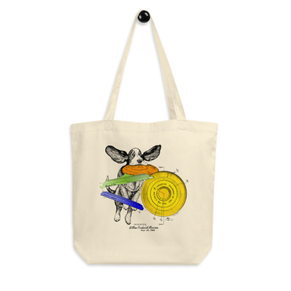 Flying Disc Tote Bag FRONT