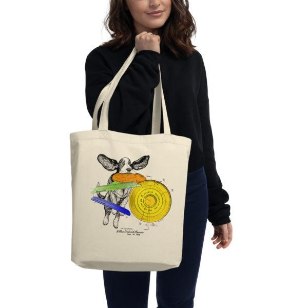 Flying Disc Tote Bag
