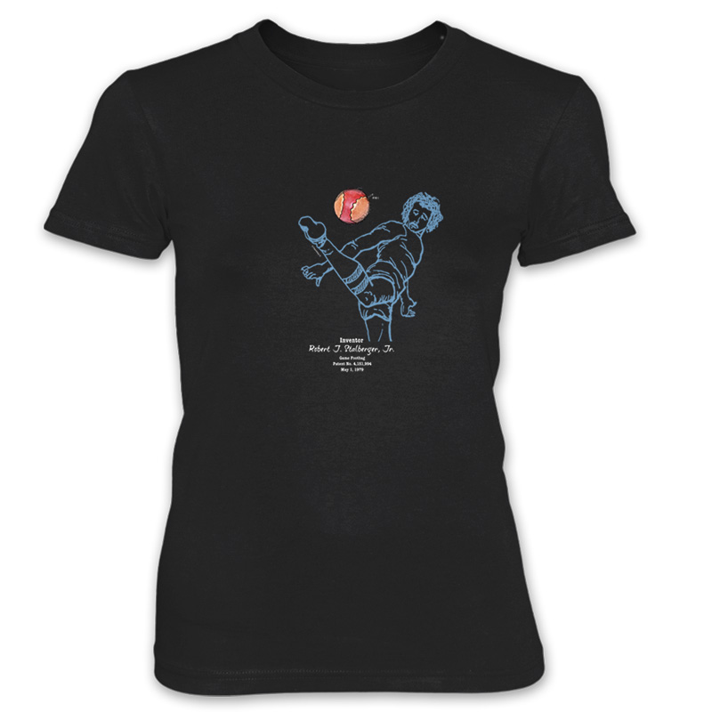 Footbag Women's T-shirt BLACK