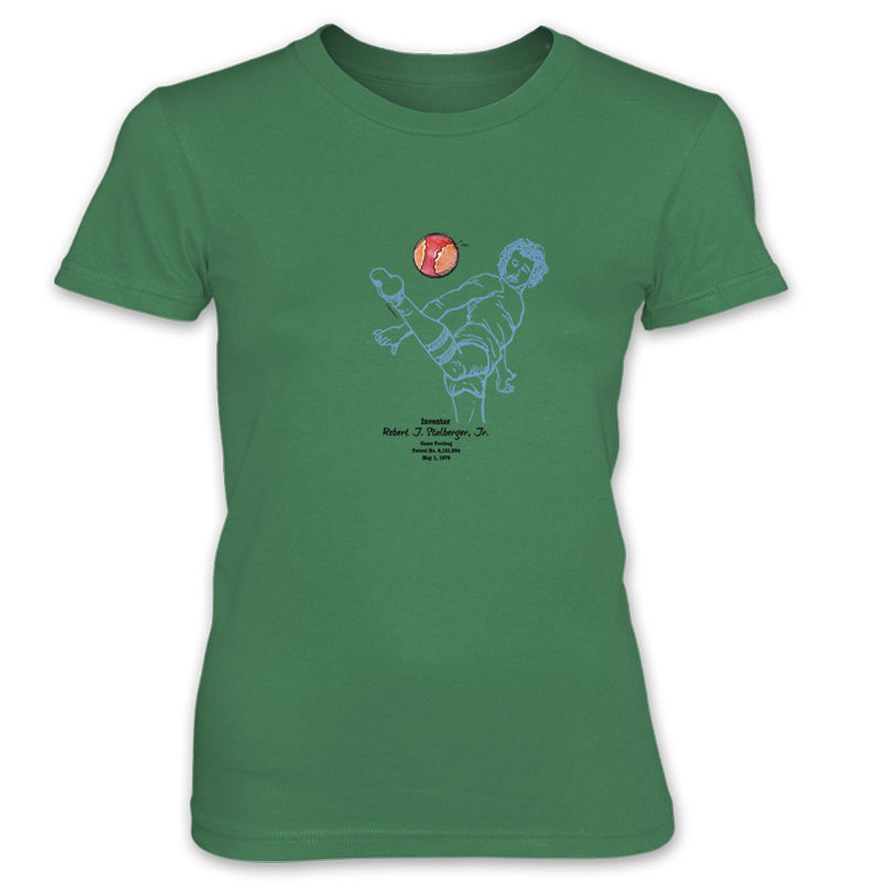 Footbag Women's T-Shirt KELLY GREEN
