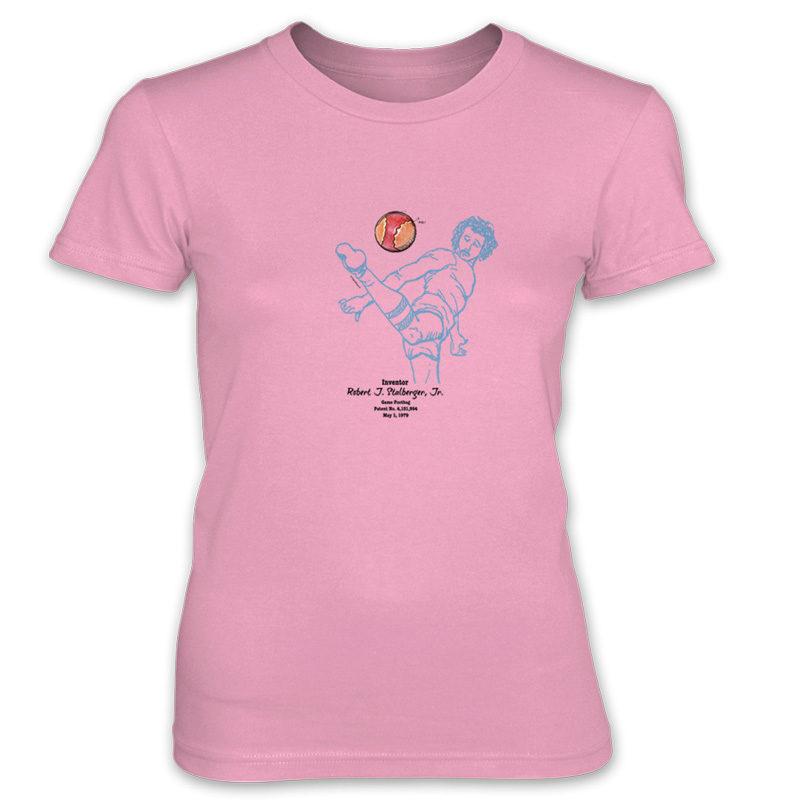 Footbag Women's T-Shirt CHARITY PINK