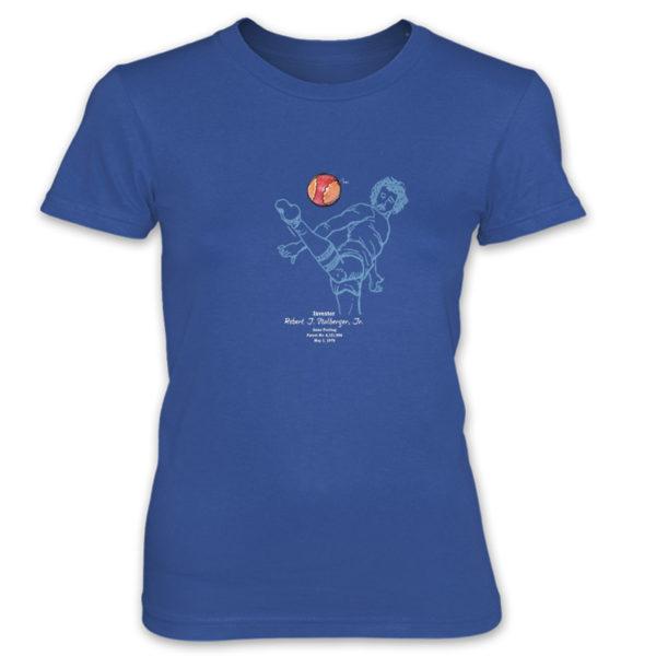Footbag Women's T-Shirt ROYAL BLUE