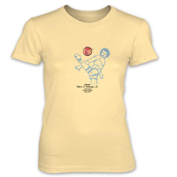 Footbag Women's T-Shirt SPRING YELLOW