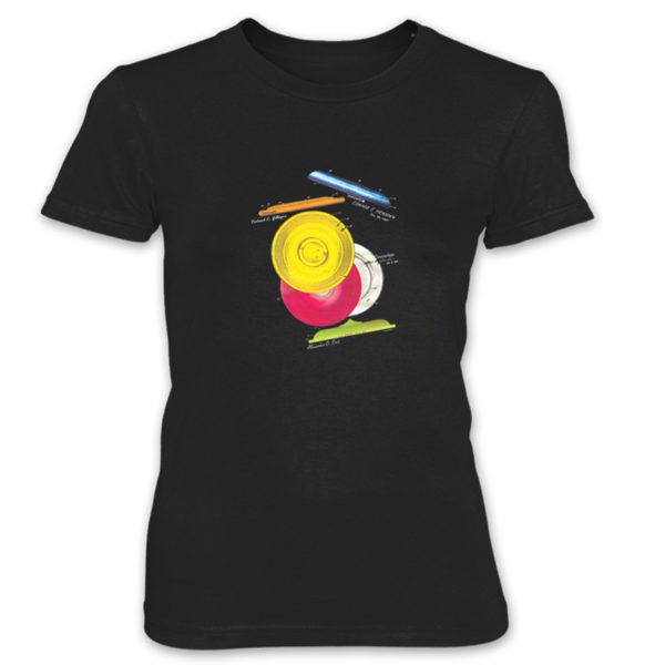 Frisbie MS-Color Women's T-Shirt BLACK