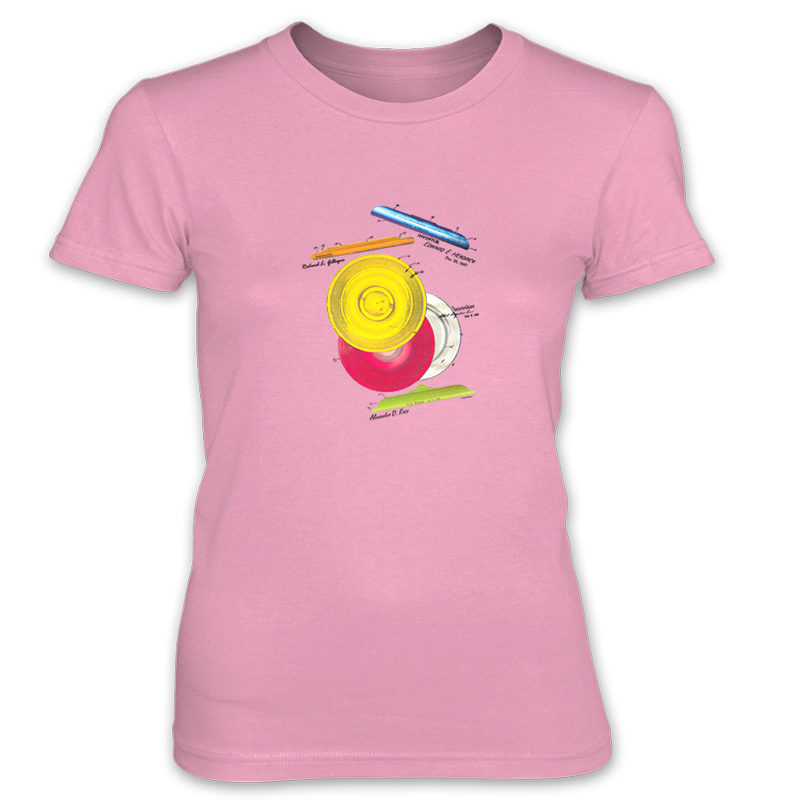 Frisbie MS-Color Women's T-Shirt CHARITY PINK