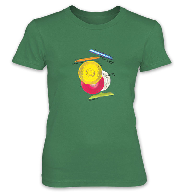 Frisbie MS-Color Women's T-Shirt KELLY GREEN