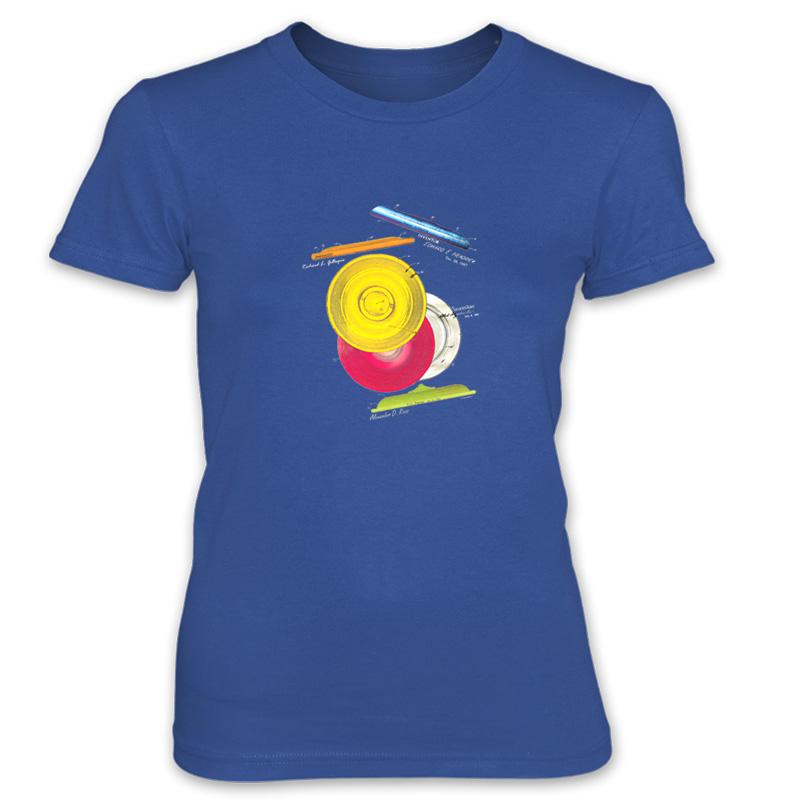 Frisbie MS-Color Women's T-Shirt ROYAL BLUE