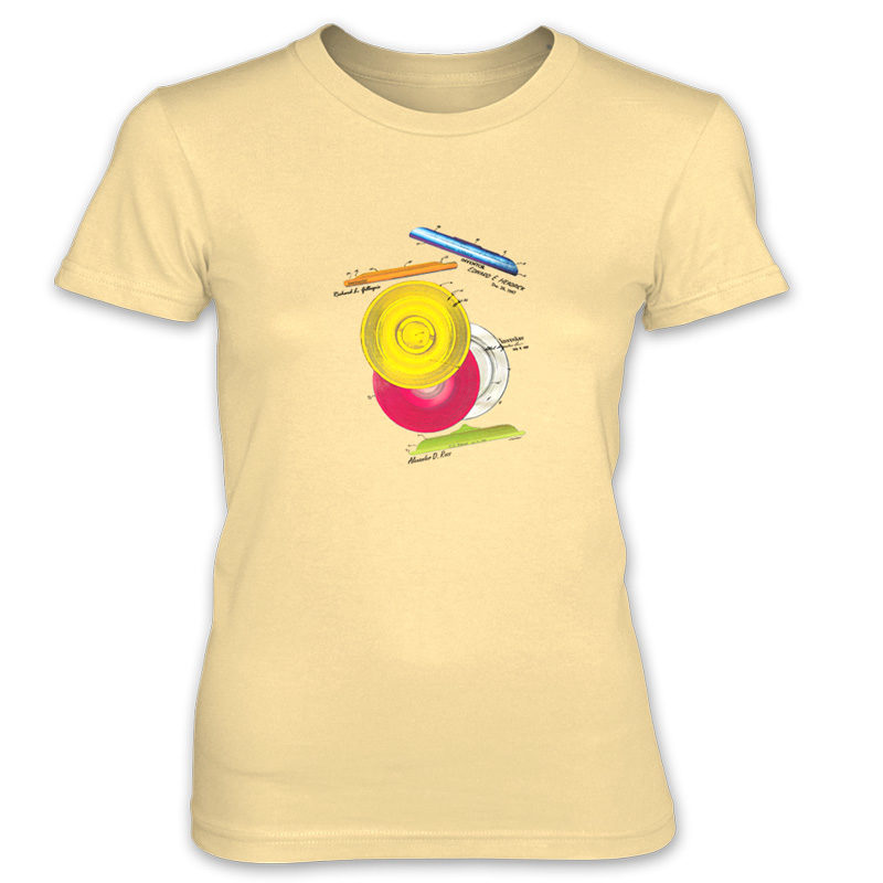 Frisbie MS-Color Women's T-Shirt SPRING YELLOW
