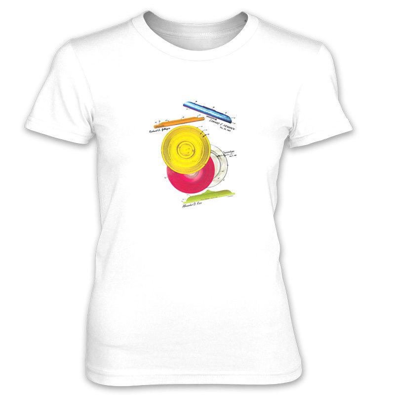 Frisbie MS-Color Women's T-Shirt WHITE