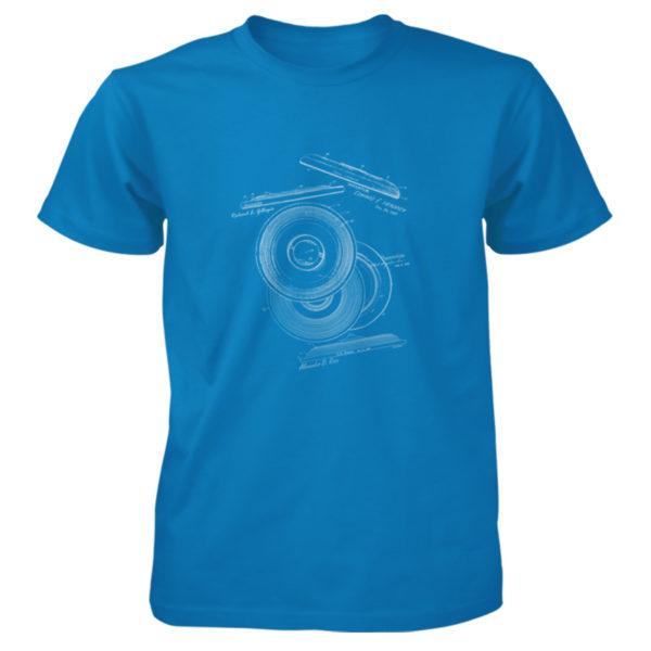 Frisbie MS-Lineart T-Shirt SAPPHIRE