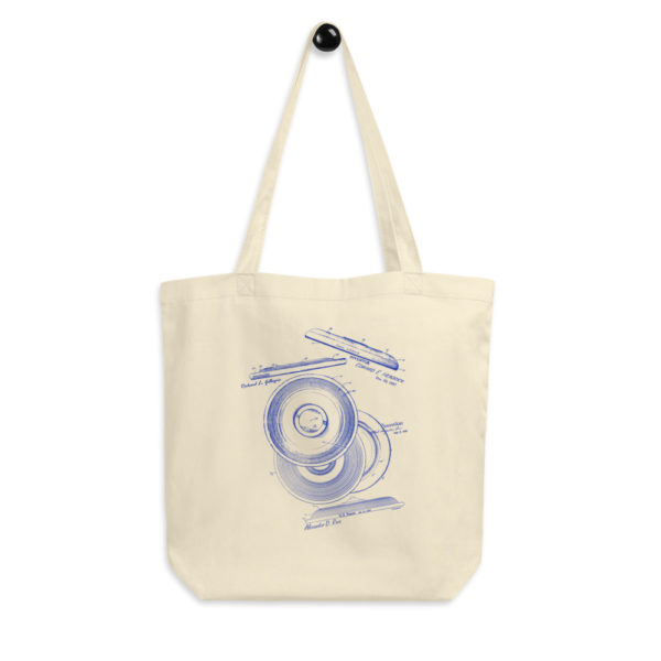 Frisbie MS-Lineart Tote Bag FRONT