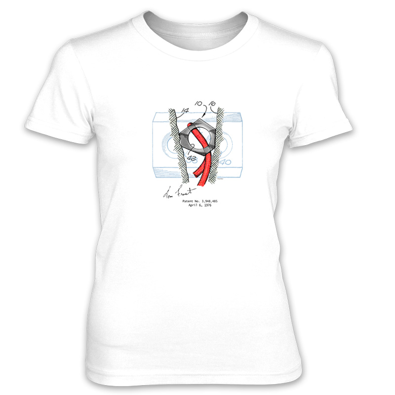 Hex Chock Women's T-Shirt WHITE