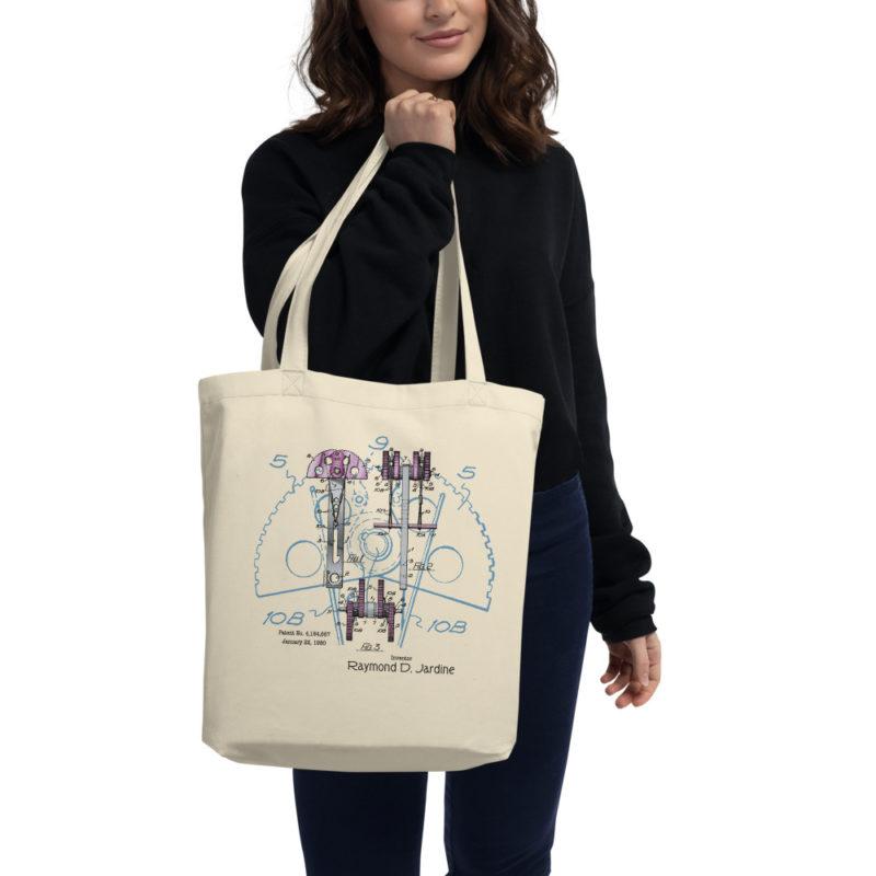 Jardine Cam Tote Bag