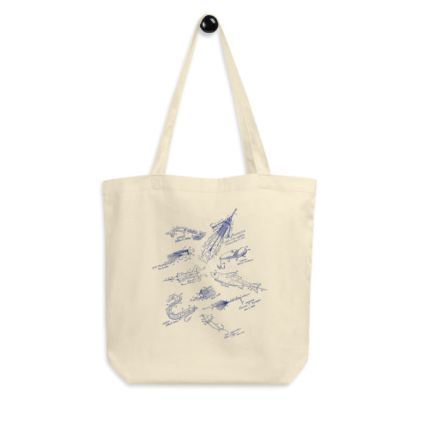 Lures MS-Lineart Tote Bag FRONT