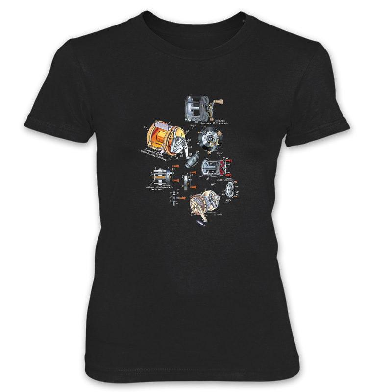 Reels MS-Color Women's T-Shirt BLACK