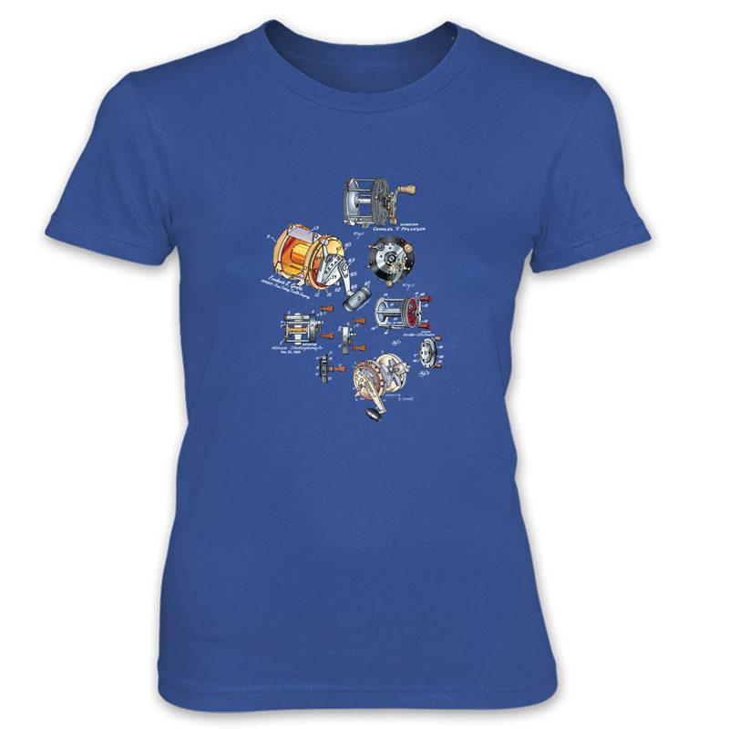 Reels MS-Color Women's T-Shirt ROYAL BLUE