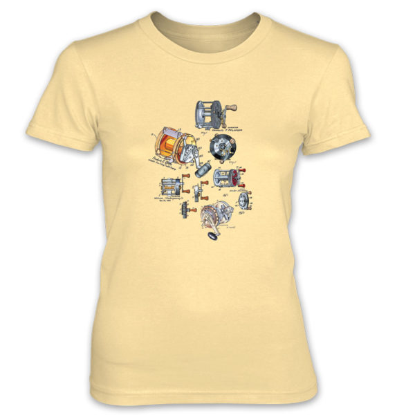 Reels MS-Color Women's T-Shirt SPRING YELLOW
