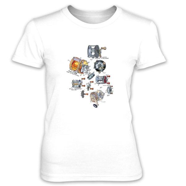 Reels MS-Color Women's T-Shirt WHITE