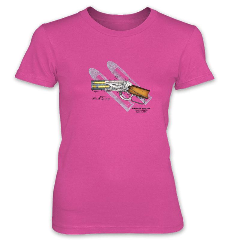 Winchester 1894 Women's T-Shirt HOT PINK