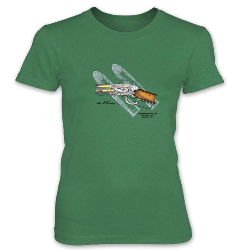Winchester 1894 Women's T-Shirt KELLY GREEN