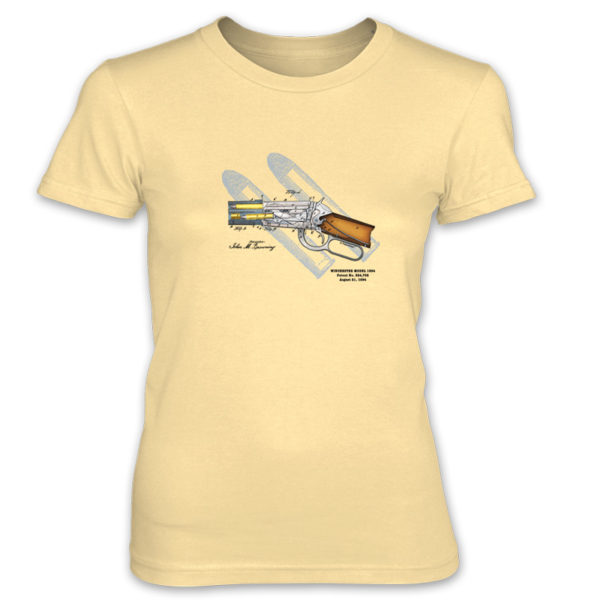 Winchester 1894 Women's T-Shirt SPRING YELLOW