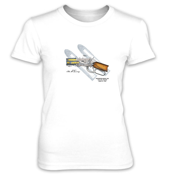 Winchester 1894 Women's T-Shirt WHITE