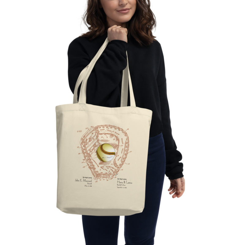 Ball & Glove Tote Bag
