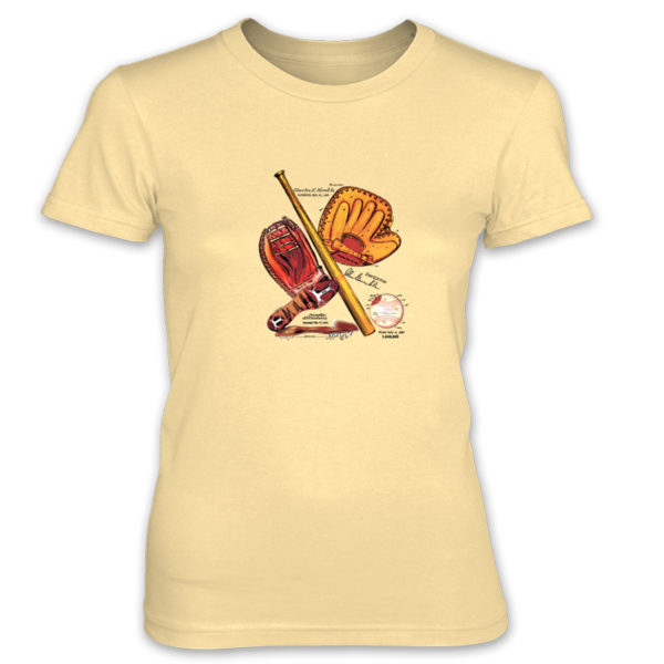Baseball MS-Color Women's T-Shirt SPRING YELLOW