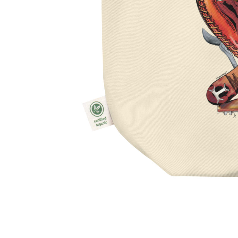Baseball MS-Color Tote Bag detail