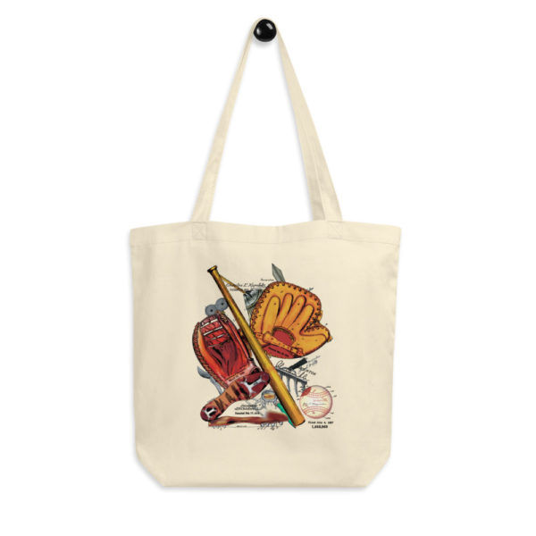Baseball MS-Color Tote Bag FRONT