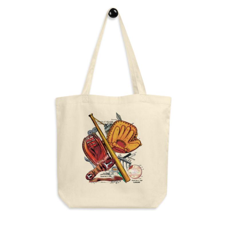 Baseball MS-Color Tote Bag FRONT