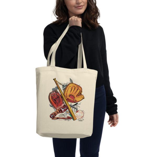 Baseball MS-Color Tote Bag